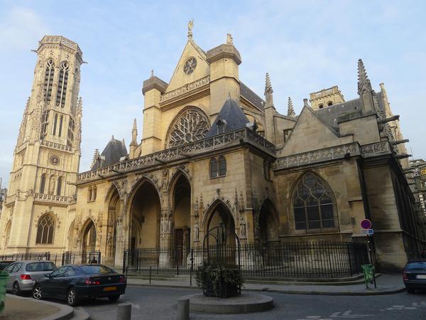 Rues et maisons du Moyen-Age autour de St Germain l'Auxerrois