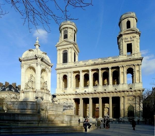 De l'église St Sulpice aux hôtels de la rue de Tournon