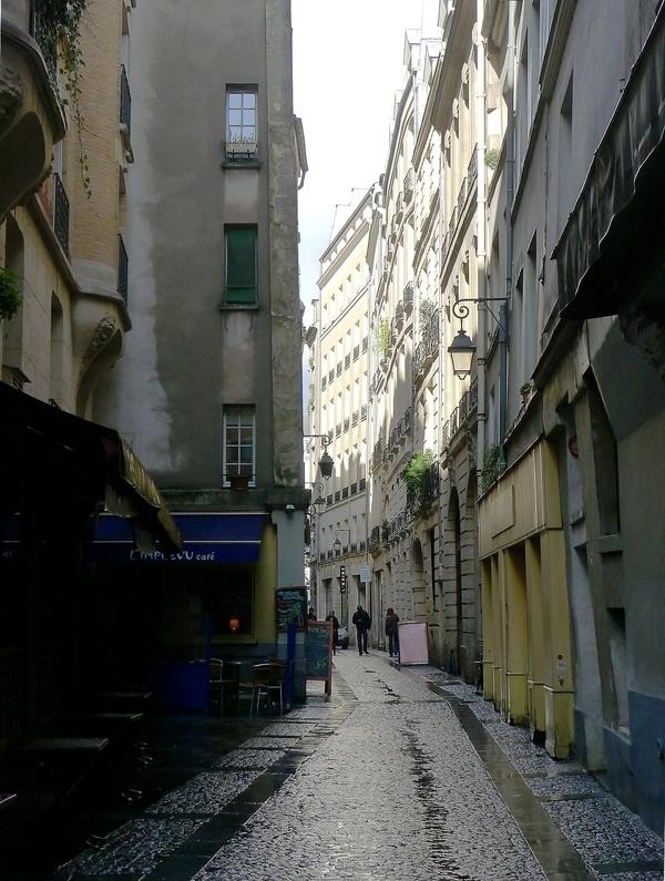 Le quartier Beaubourg, de St Merri à la rue Quincampoix